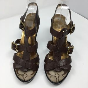 Coach Jamie Sandals size 10